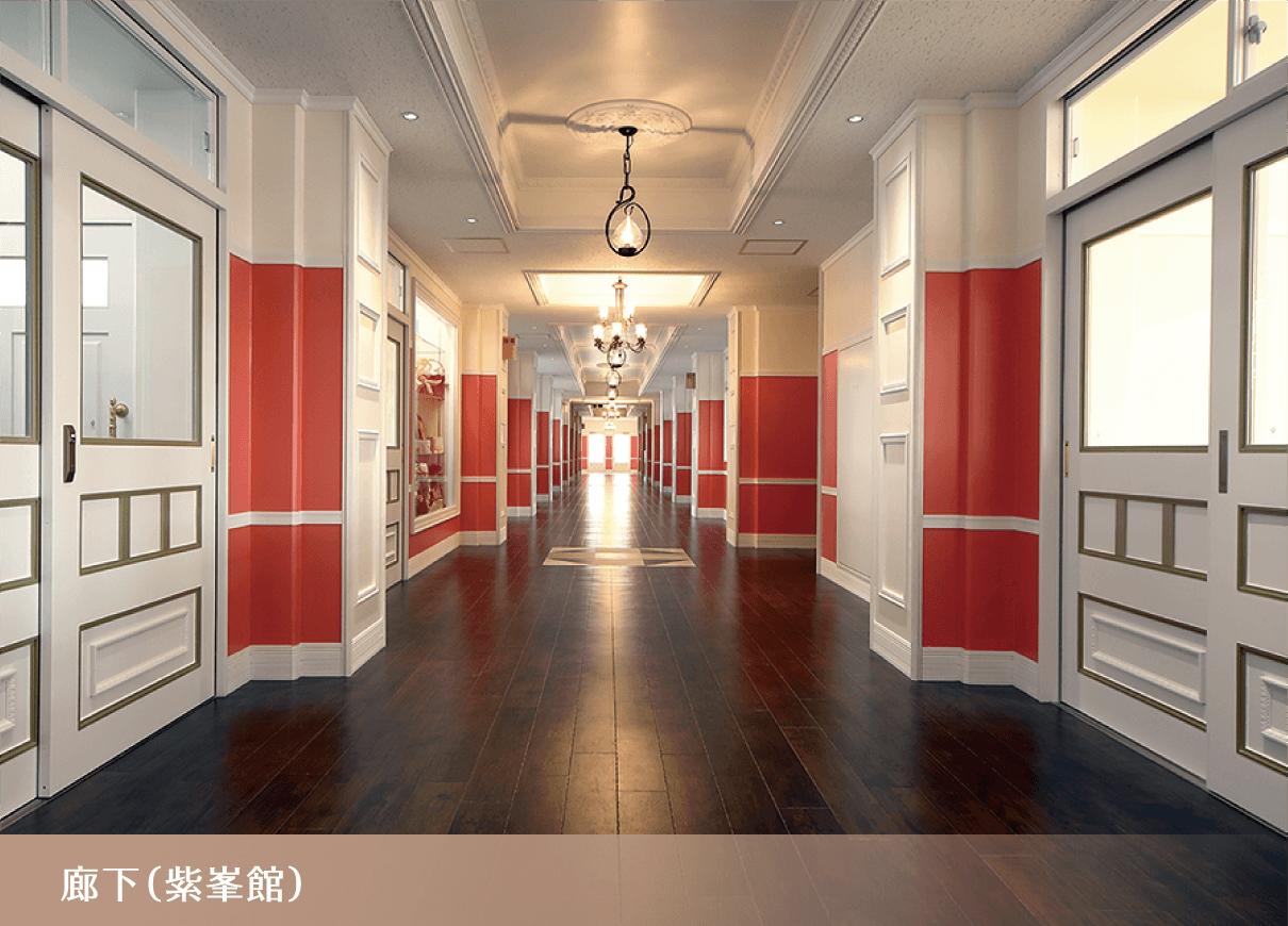 廊下(紫峯館)